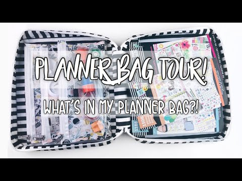 What's In My Planner Bag?! | Planner Bag Tour | The Paper Studio
