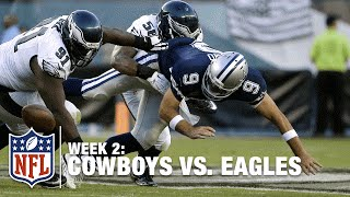 Down Goes Romo! Eagles Cedric Thornton Records Sack | Cowboys vs. Eagles | NFL