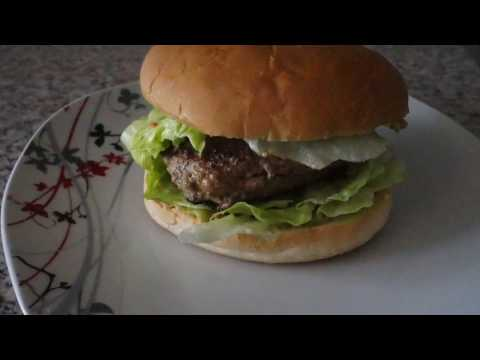Recette : l'hamburger à l'avocat