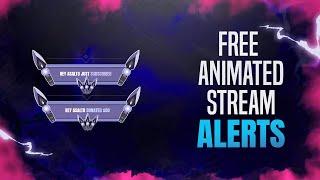 Free! Valorant Animated Jett Stream / Twitch Alerts