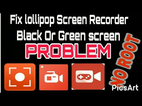 how to fix green screen