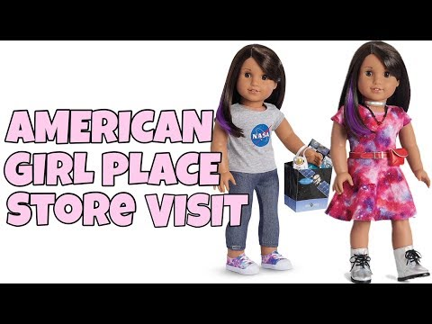 Chloe Visits The American Girl Place Store