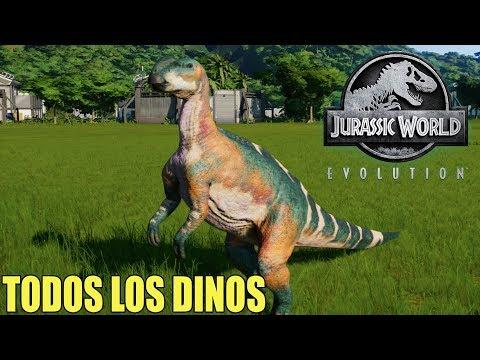 Jurassic World Evolution - TODOS LOS DINOS DEL JUEGO - JW EVOLUTION GAMEPLAY ESPAÑOL #11