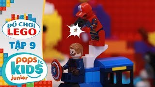 Đồ Chơi Lego - Tập 9 - Spiderman Làm Nhiếp Ảnh Gia | Toys Review
