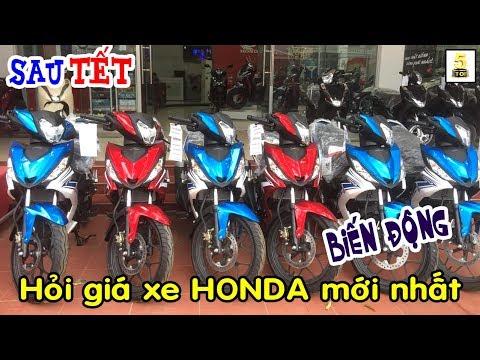 Sau TẾT Đi Hỏi Giá Xe HONDA Tháng 2/2019 ▶️ Giá Xe Honda Biến Động 🔴 TOP 5 ĐAM MÊ