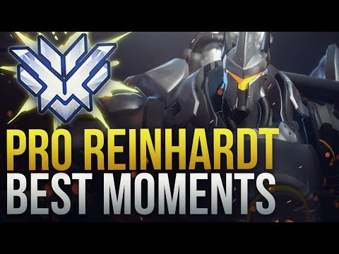 BEST PRO REINHARDT MOMENTS - Overwatch Montage thumbnail
