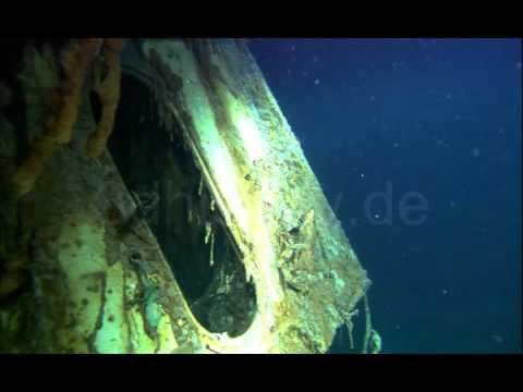 Wreck of the German Battleship Bismarck