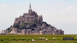 Mont Saint-Michel, Bretagne, France.  Мон Сен-Мишель, Бретань.(Mont Saint-Michel, Bretagne, France, no comments. Мон Сен-Мишель, Бретань, Франция, без комментариев. Music: YouTube Audio Library , Huma-Huma, ..., 2015-06-21T06:28:31.000Z)