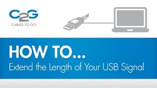 How To Extend Your USB Signal