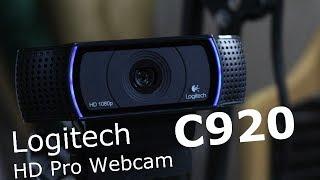 Обзор веб-камеры Logitech HD Pro Webcam C920