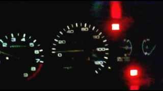 Honda Civic EH3 D16z6 Aspro 255whp. Embaralhando na lenta, com 2step AEM