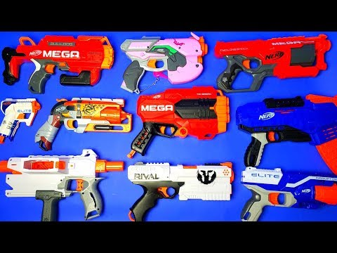 Nerf Armory - Nerf Pistol Blasters!