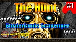 Borderlands | The Hunt | Complete Scavenger Hunt | Handsome Collection