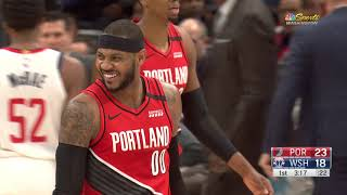 Washington Wizards vs Portland Trail Blazers | January 3, 2020
