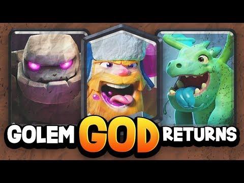 WORLD'S #1 GOLEM PRO'S Best Deck After Balance Update!