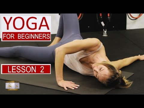 yoga for beginners lesson 2 vicky chapman  youtube