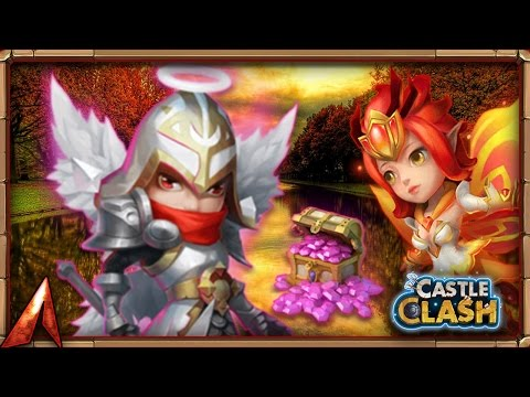 Castle Clash Rolling 60k Gems For Michael!