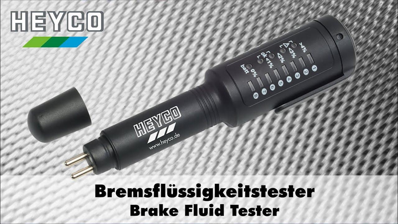 Dot 5 Brake Fluid >> HEYCO Bremsflüssigkeitstester / HEYCO Brake Fluid Tester ...