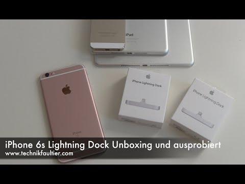 iPhone 6s Lightning Dock Unboxing und ausprobiert