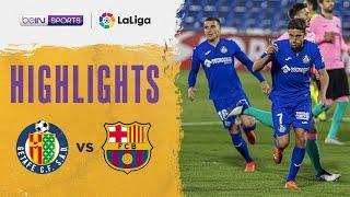 Getafe 1-0 Barcelona | LaLiga 20/21 Match Highlights