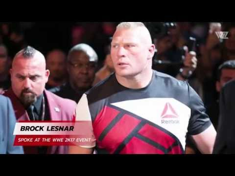 Brock Lesnar Rips Into Conor McGregor