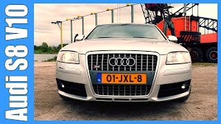 Audi S8 5.2 V10 Review   Lamborghini powered Limousine (English Subtitles)