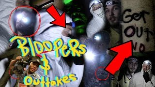 WE FOUND LIVING GHOSTS | bloopers/outtakes