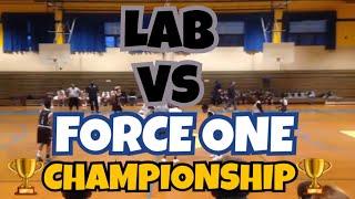 11/12/17 - Team L.A.B. vs Force One - Championship