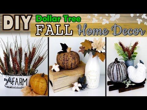 Dollar Tree DIY | Neutral Fall Decor | Farmhouse Ideas