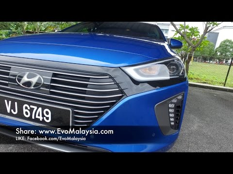 2017 Hyundai Ioniq Super In Depth Review in Evo Malaysia