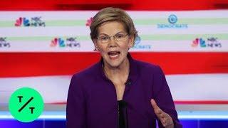 Warren Calls Gun Violence a National Health Emergency at First Debate