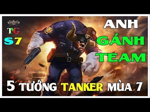 Liên quân mobile Top 5 vị tướng Tanker gánh đội mùa 7 hiệu quả nhất TNG