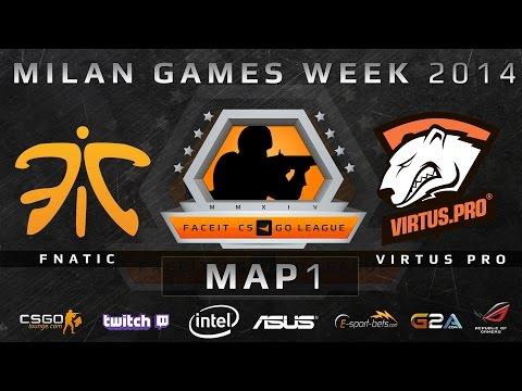 Fnatic vs Virtus Pro - FACEIT LAN - Game 1