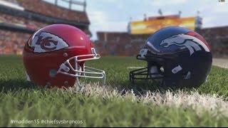 Madden NFL 15 | Week 2 Simulation: Chiefs vs Broncos #madden15 #chiefsvsbroncos