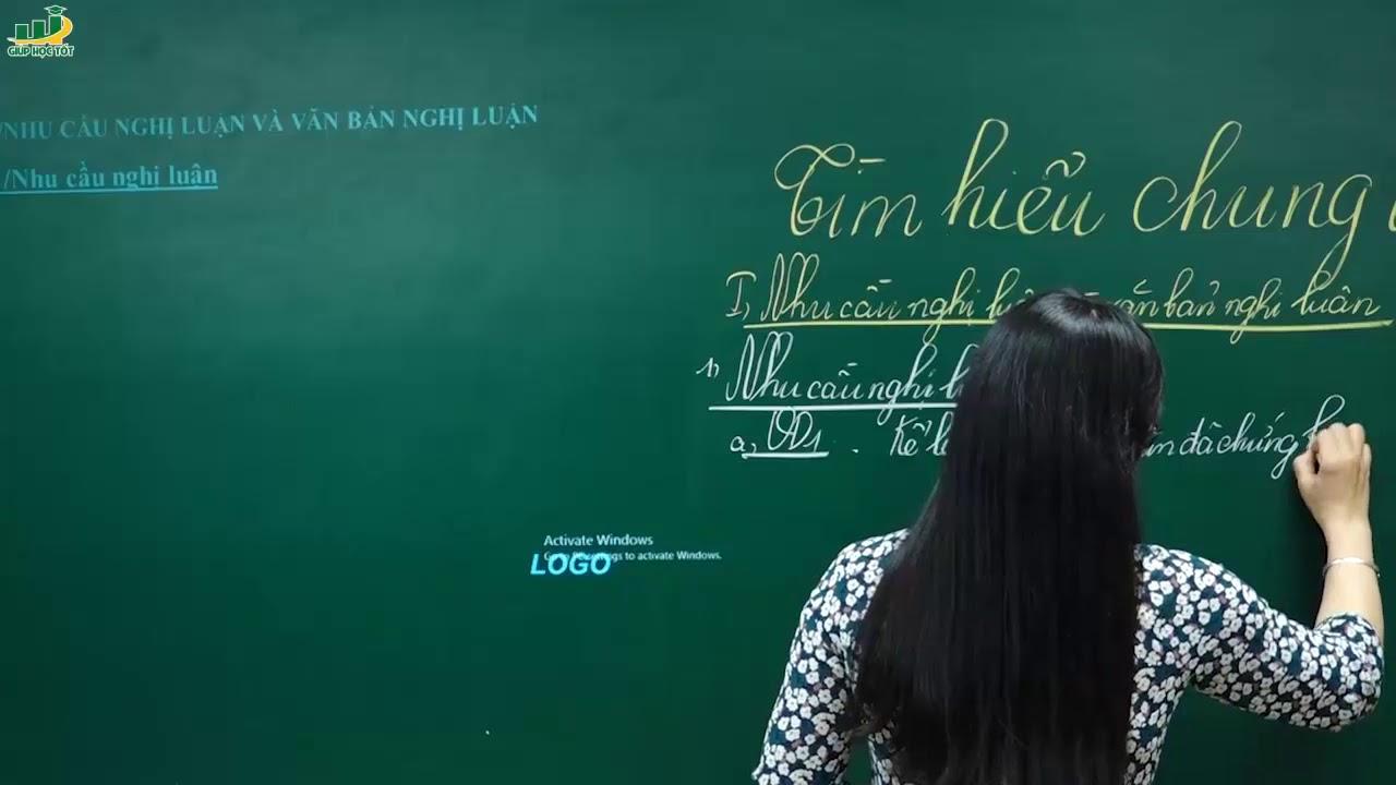 Ngữ Văn Lớp 7- Tìm hiểu chung về văn nghị luận (P1)|Rèn kĩ năng làm bài văn nghị luận|Cô Lê Hạnh