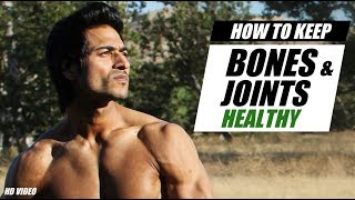 How to keep BONES & JOINTS Healthy | Info by Guru Mann