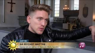 Låten som betytt mest för Danny Saucedo - Nyhetsmorgon (TV4)