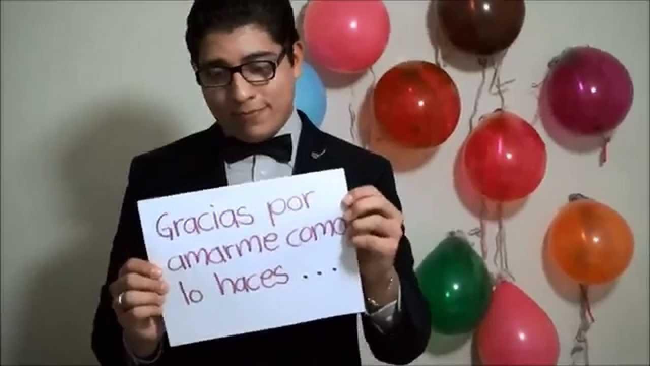 Mi regalo a distancia feliz cumplea os mam youtube - Como sorprender a mi pareja en su cumpleanos ...