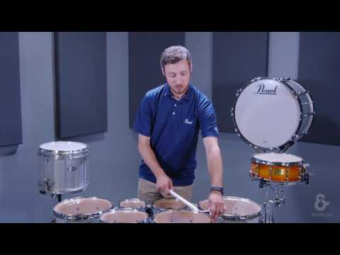 Tuning Pearl Marching Tenor Drums