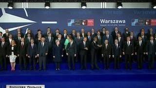 Ольга Скабеева сумела попасть за кулисы саммита НАТО в Варшаве