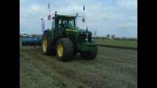 Naše pole 2012 - příprava na předvádění autopilotu Trimble (červen 2012)