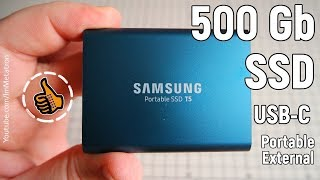 Samsung T5 Portable SSD - 500GB - Мой внешний диск