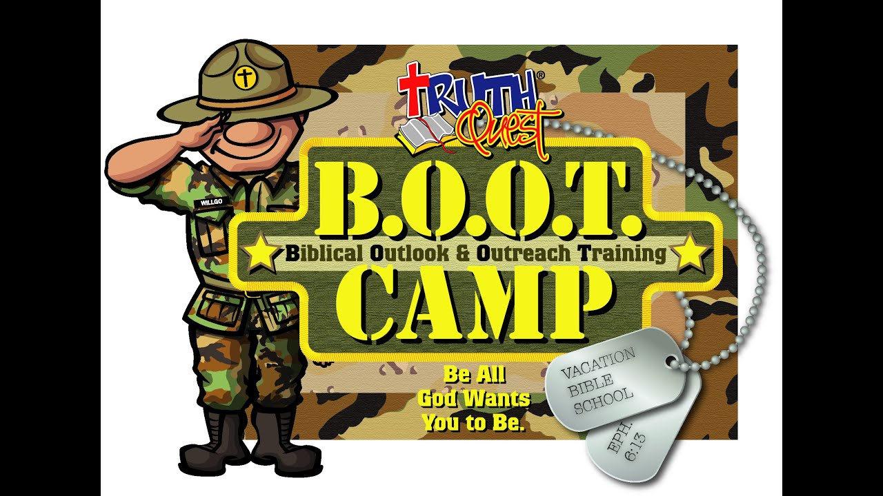 VBS BOOT Camp 2014 - YouTube