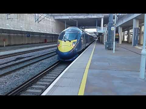 Trains At: Stratford International, HS1, 09/03/19