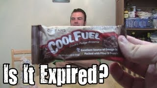 Is It Expired? - Cool Fuel Double Fudge Brownie