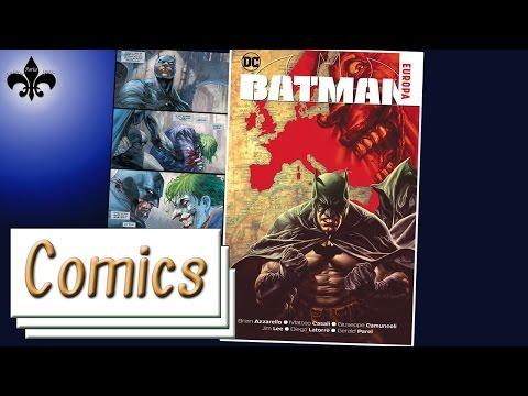Batman Europa 1-4 Comic Review - Panini /GER
