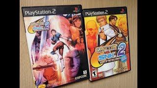 CAPCOM vs. SNK 2 Unboxing e comparações com a versão japonesa