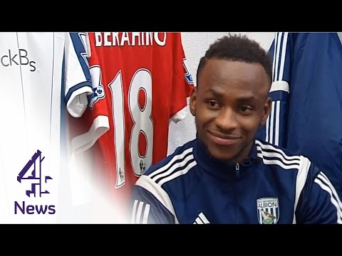 Saido Berahino on England, Burundi & immigration | Channel 4 News