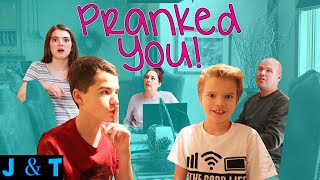 PRANKiNG OUR FAMiLY!