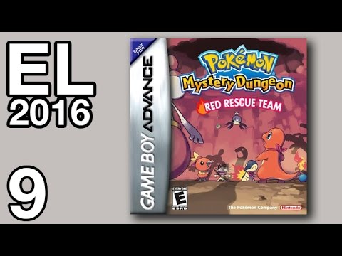 Extra Life 2016 #9 - Pokémon Mystery Dungeon: Red Rescue Team